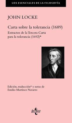 CARTA SOBRE LA TOLERANCIA (1689)