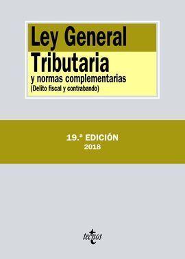 LEY GENERAL TRIBUTARIA Y NORMAS COMPLEMENTARIAS 2018