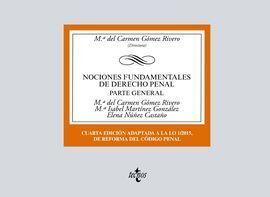 018 NOCIONES FUNDAMENTALES DE DERECHO PENAL PARTE GENERAL