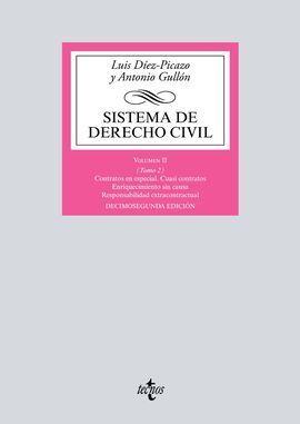 SISTEMA DE DERECHO CIVIL VOLUMEN II (TOMO 2)