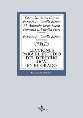 LECCIONES PARA EL ESTUDIO DEL DERECHO LOCAL EN EL GRADO