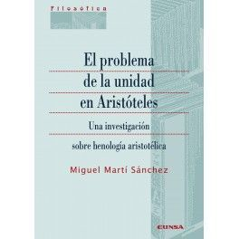 EL PROBLEMA DE LA UNIDAD EN ARISTÓTELES