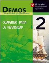 DEMOS 2 CUADERNO DIVERSIDAD. CIENCIAS SOCIALES,