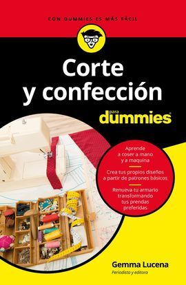 CORTE Y CONFECCION PARA DUMMIES