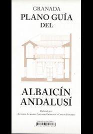 GRANADA PLANO GUIA DEL ALBAICIN ANDALUSI