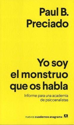 YO SOY EL MONSTRUO QUE OS HABLA