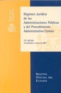 RÉGIMEN JURÍDICO DE LAS ADMINISTRACIONES PÚBLICAS Y PROCEDIMIENTO