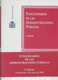FUNCIONARIOS ADMINISTRACIONES PÚBLICAS 9ªED.