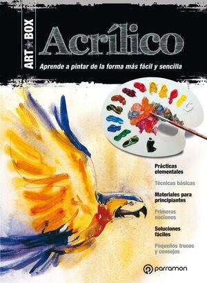 ART BOX ACRILICO KIT LIBRO + LAMINAS + MATERIAL