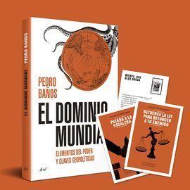 PACK TC EL DOMINIO MUNDIAL + 10 POSTALES ESTRATEGIAS