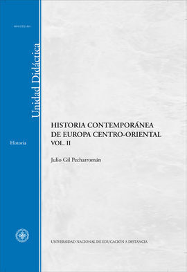 HISTORIA CONTEMPORANEA DE EUROPA CENTRO-ORIENTAL VOL. II