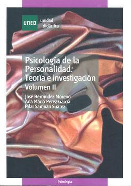 PSICOLOGÍA DE LA PERSONALIDAD. TEORÍA E INVESTIGACIÓN
