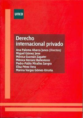 DERECHO INTERNACIONAL PRIVADO VOL I