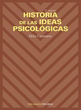 HISTORIA DE LAS IDEAS PSICOLOGICAS
