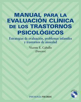 MANUAL PARA LA EVALUACIÓN CLÍNICA DE LOS