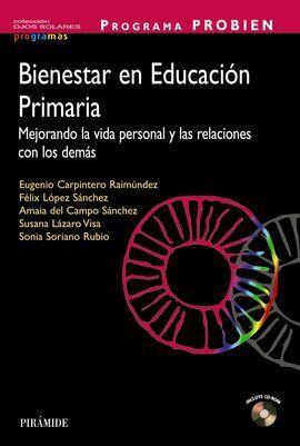 PROGRAMA PROBIEN. BIENESTAR EN EDUCACIÓN PRIMARIA