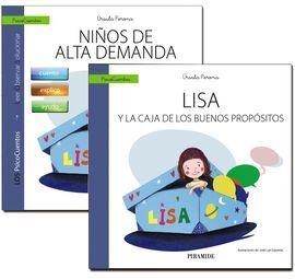 GUÍA: NIÑOS DE ALTA DEMANDA + CUENTO: LISA Y LA CAJA DE LOS BUENOS PROPÓSITOS