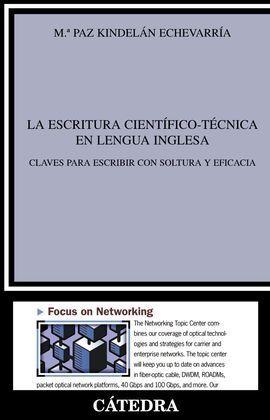 LA ESCRITURA CIENTÍFICO-TÉCNICA EN LENGUA INGLESA
