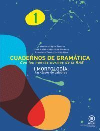 CUAD GRAMATICA 1 MORFOLOGIA: LAS CLASES DE PALABRA