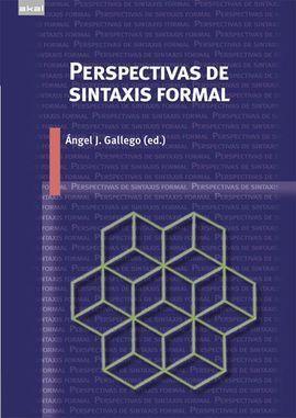 PERSPECTIVAS DE SINTAXIS FORMAL