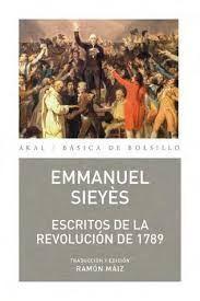ESCRITOS DE LA REVOLUCIÓN DE 1789