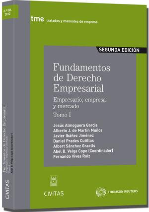 FUNDAMENTOS DE DERECHO EMPRESARIAL (I) - EMPRESARIO, EMPRESA Y ME