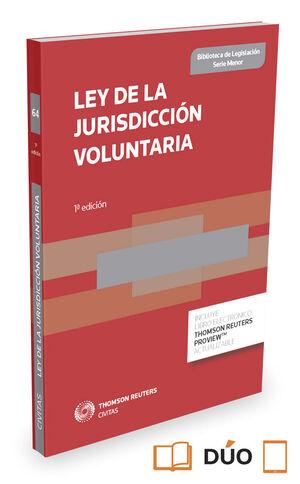 LEY DE LA JURISDICCION VOLUNTARIA EXPRESS (DUO)