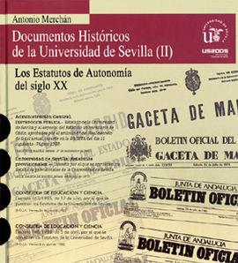 DOCUMENTOS HISTORICOS DE LA UNIVERSIDAD DE SEVILLA (V CENTEN