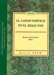 EL CANON POÉTICO EN EL SIGLO XVII