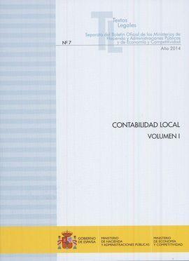 CONTABILIDAD LOCAL. VOLUMEN I Y II