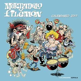 CALENDARIO MORTADELO Y FILEMON 2017