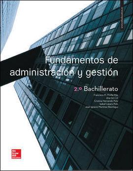 LA FUNDAMENTOS DE ADMINISTRACION Y GESTION 2 BACHILLERATO. LIBRO