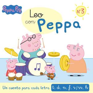 PEPPA PIG. LEO CON PEPPA 3