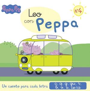 PEPPA PIG. LEO CON PEPPA 4