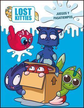 JUEGOS Y PASATIEMPOS (LOST KITTIES. ACTIVIDADES)