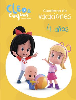 CUADERNO VACACIONES CLEO Y CUQUIN 4 AÑOS