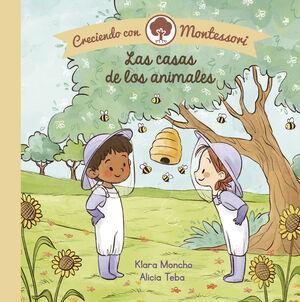 LAS CASAS DE LOS ANIMALES (CRECIENDO CON MONTESSORI. PEQUEÑAS MANITAS)