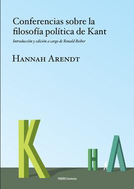 CONFERENCIAS SOBRE LA FILOSOFIA POLITICA DE KANT