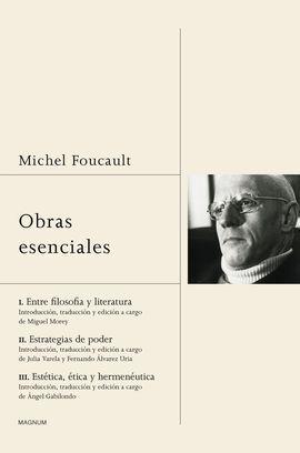 OBRAS ESENCIALES FOUCAULT