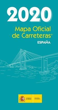 MAPA OFICIAL DE CARRETERAS 2020 ESPAÑA