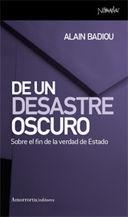 DE UN DESASTRE OSCURO