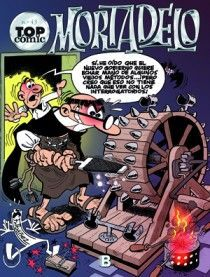 TOP COMIC MORTADELO 43 -CONTRA EL GANG DEL CHICHARRON