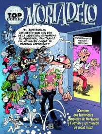 TOP COMIC MORTADELO 51 CHAPEAU EL ESMIRRIAU