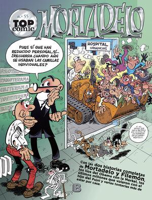 TOP COMIC MORTADELO 55