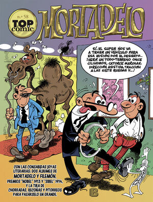 TOP COMIC MORTADELO 58 (LIB)