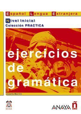 EJERCICIOS DE GRAMÁTICA. NIVEL INICIAL