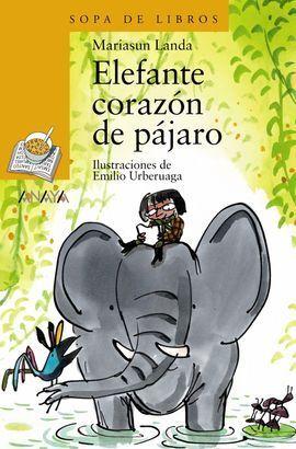 ELEFANTE CORAZÓN DE PÁJARO
