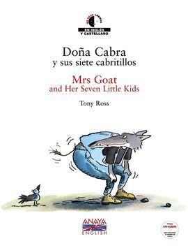 DOÑA CABRA Y SUS SIETE CABRITILLOS (BILINGÜE) CON CD