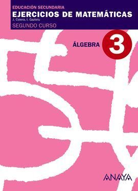 ÁLGEBRA, 2 ESO. CUADERNO 3