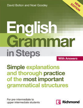 NEW ENGLISH GRAMMAR IN STEPS BOOK WITH ANSWERS